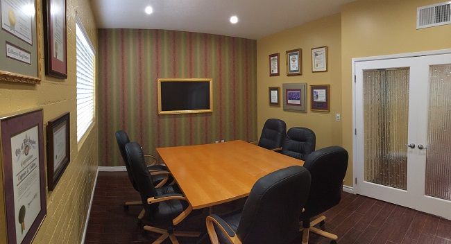 Collins Law Group large conference room
