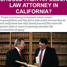 What Questions Should I Ask an Elder Law Attorney in California