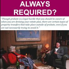 Is California Probate Always Required