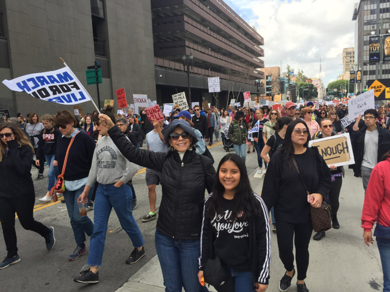 >March for Our Lives L.A image