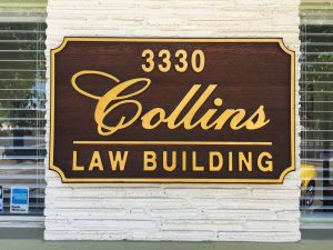 collins law building board