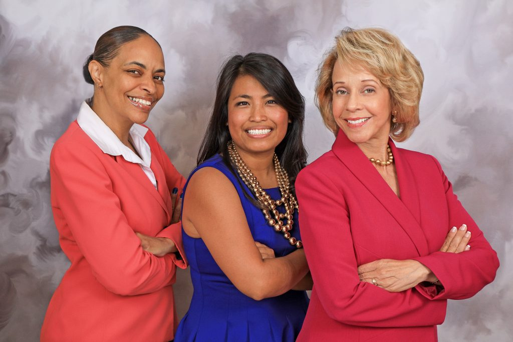 Stracy Lyons, Lioness Ebbay, and Caprice Collins of Collins Law Group